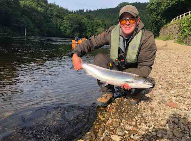 Organising A Salmon Fishing Event