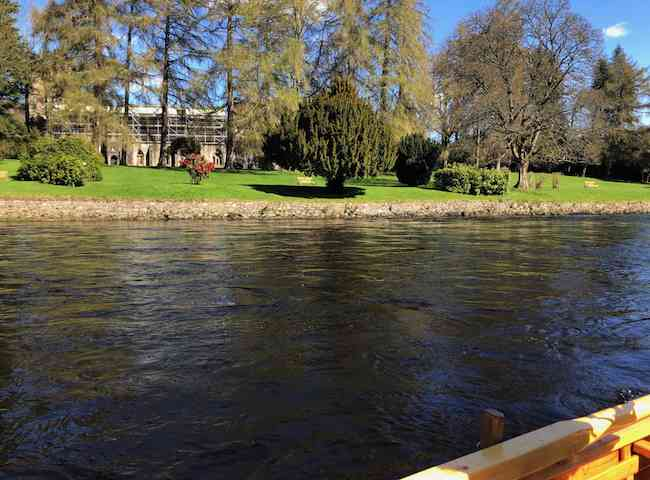 Dunkeld Cathedral River Tay