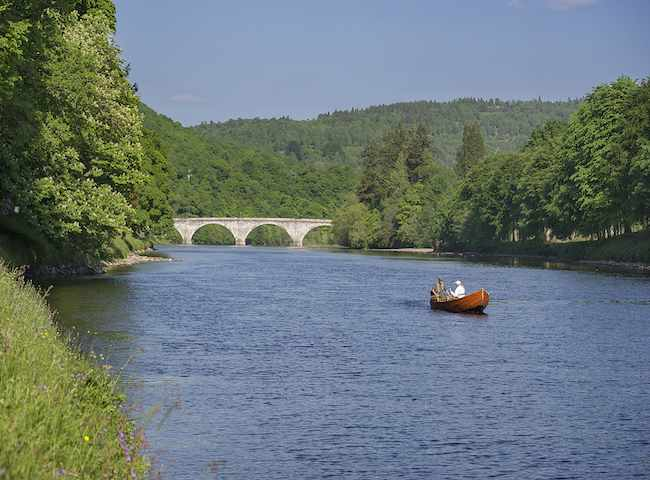 Spectacular River Tay Scenery