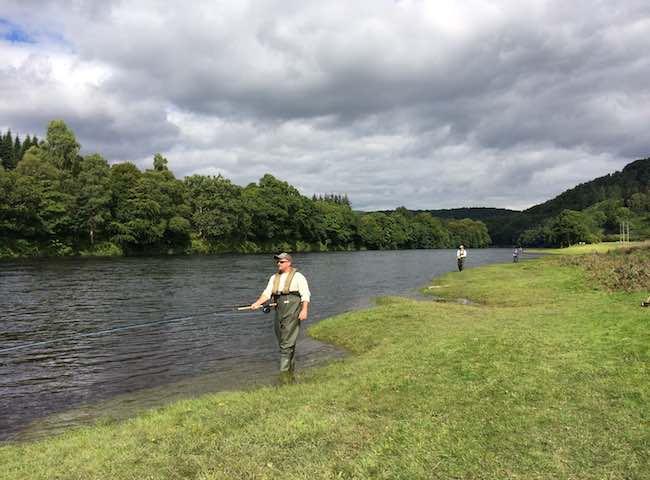 Professional Scottish Salmon Fishing Tuition