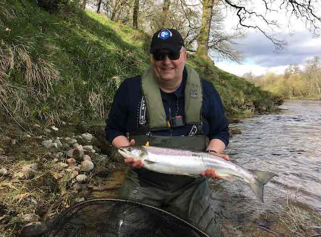 Learning To Catch River Tay Salmon