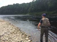 Salmon Fishing Tuition River Tay