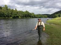 Group Salmon Fishing Tuition