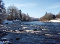 The River Dee In Winter