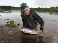 Summer Salmon From The River Tay