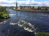 The River Tay In Perth
