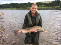 Scottish Salmon Fishing For Kids