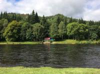 River Tay Fishing Huts