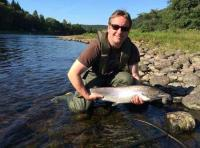 Autumn River Tay Salmon Fishing