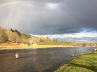 The Scottish Salmon River Scenery