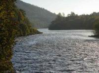 The River Tay At Dunkeld