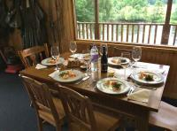 Gourmet Lunch In The Fishing Hut