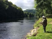 Fishing The Tay In Summer