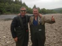 Fishing With Football Legends