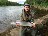 Guided Salmon Fishing In Scotland