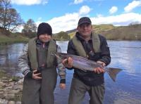 Catching Spring Salmon On The River Tay