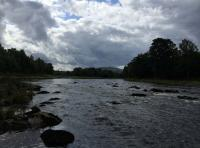 The Beautiful River Tay In Perthshire