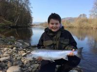 Fishing Spring Salmon In Scotland