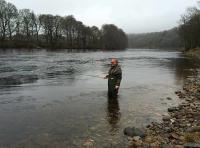 Fishing Scottish Salmon Rivers In Spring