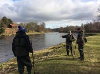 River Dee Salmon Fishing Event Instruction