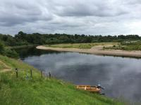 Catching A Salmon On Scotland's Rivers