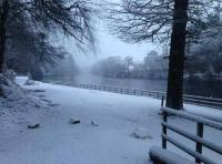 The River Tay In Winter