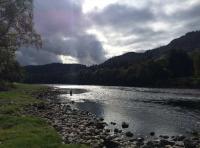 River Scenery In Scotland