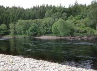 Salmon Fishing Pools On Scottish Rivers