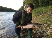 Salmon Fishing On The River Tay