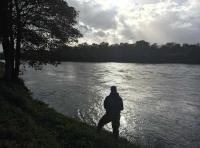 Fishing Days On The River Tay