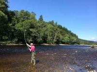 Fly Fishing On Scotland's Salmon Rivers