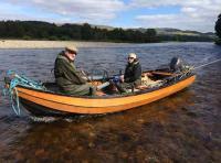 Fishing Scotland's River Tay For Salmon