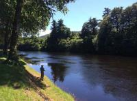 Spinning For Atlantic Salmon In Scotland