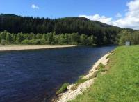Salmon Fly Fishing Pools In Scotland