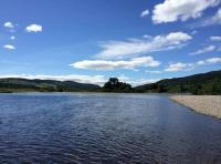 Catching Atlantic Salmon In Scotland