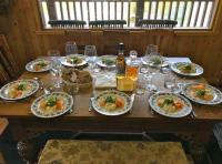 Professionally Catered Fishing Hut Lunches