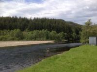 Salmon River Fly Fishing In Scotland