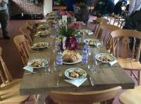 Corporate Salmon Fishing Event Lunches