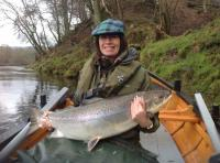 Spring Salmon On The River Tay