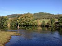 Scottish Salmon Fishing Scenery