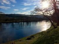 Salmon Fishing The Beautiful River Tay
