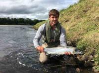 Perfect Summer Salmon Fishing