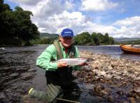 Catching Tay Salmon On The Fly