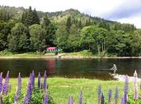 River Tay Salmon Fishing Huts