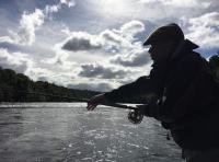 Casting A Fly On The Tay