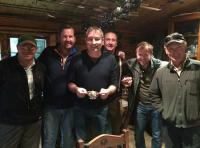 Salmon Fishing Event Prize Giving