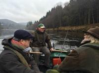 A Salmon Fishing Day By Boat