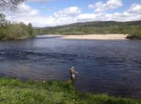 Enjoying The Salmon River