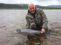 Salmon Fishing The River Tay