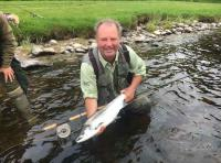 Catching A Tay Salmon